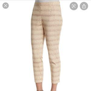 Lafayette 148 New York Stanton Slim Cropped Pants